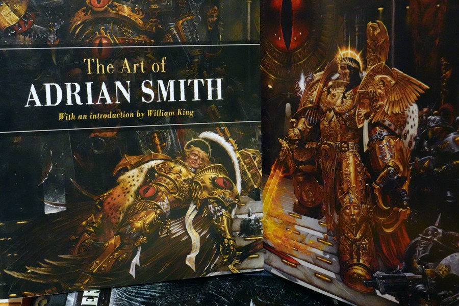 The Art of Adrian Smith